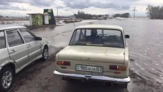 Потоп и наводнение Атбасар, Максимовка, Державинск, Астана