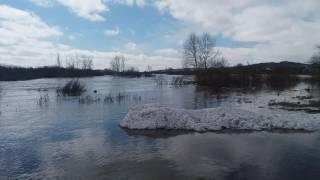 Паводок. Балкашино Казахстан.