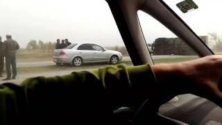 Ужасная авария, на трассе Костанай -Рудный  5.05.17года