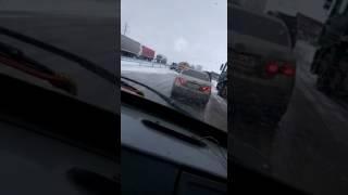 Авария. Казахстан.Трасса  Астана - Кокшетау