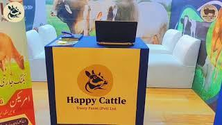 Happy Cattle Dairy Farm Stall at Sindh Livestock Expo 2021