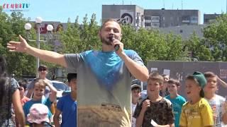 """Открытие батутного парка """"Skypark"""" в г.Темиртау"""