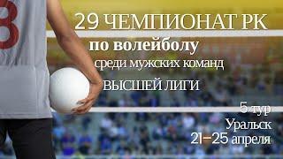 Туран Динамо - Жетысу-Жастар.Волейбол|Высшая лига|Мужчины|5 тур|Уральск