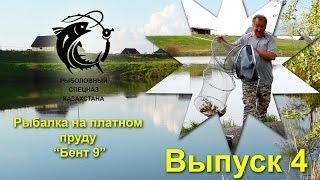Выпуск 4. Рыбалка на платном пруду Бент 9. Рыбалка в Алматы. Рыбалка в Казахстане.