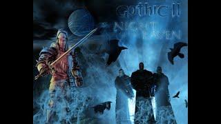 Gothic 2 Ночь Ворона. Полное Прохождение . Часть 19 - Темный Лес. (без комментариев)