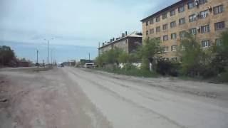 карагандинская обл.  г  Сарань. автостанция.   ул  чкалова дорога