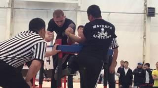 Чемпионт Казахстана По Армрестлингу Категория 70 Кг.  2017 г.