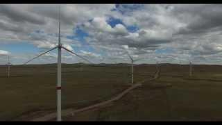 EXPO 2017. Ветростанции под Астаной в Ерейментау. Wind Power is The Future Energy in Kazakhstan.