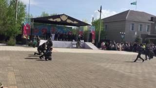 9 мая 2017 год, город Державинск, Казахстан, СШ имени Н.К. Крупской