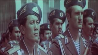 парад в Алма Ате 1981г.  177 отряд