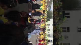 Парад в Кульсары 2017
