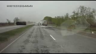 Авария на трассе Костанай-Рудный 5 мая 2017 года
