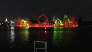 EXPO 2017 Astana - фонтан на набережной
