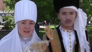 Парад 1 июня г Кокшетау Сервисно технический колледж №1 HD