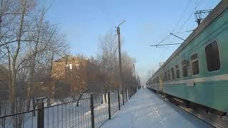 Станция Жалтыр зимой 2021 года