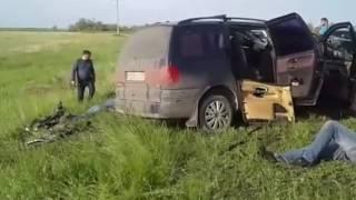 ДТП на трассе Уральск - Аксай 2 часть