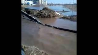 КОКШЕТАУ затопило Мост 12школа