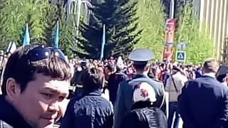 Бессмертный полк. Кокшетау 2017