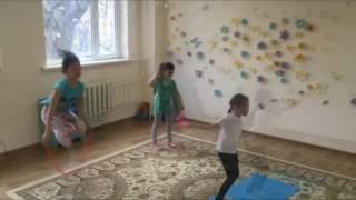 """Художественная гимнастика в Алматы. Центр всестороннего развития детей""""Всезнайка"""""""